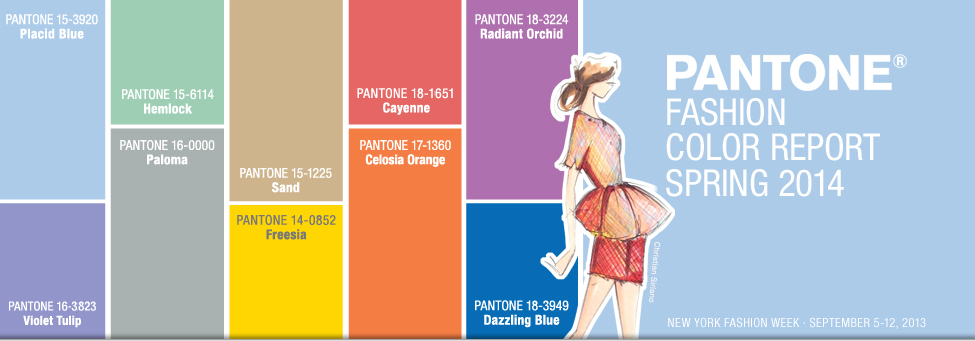 Pantone Fashion Color Report 2014