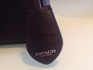 Coach mini carryall